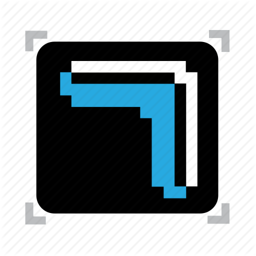 Boomerang, Pixel Icon