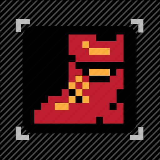 Boot, Pixel Icon
