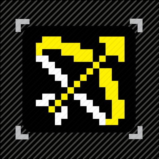 Bow, Pixel Icon