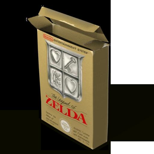 Box Zelda Icon Nes Iconset Ahuri