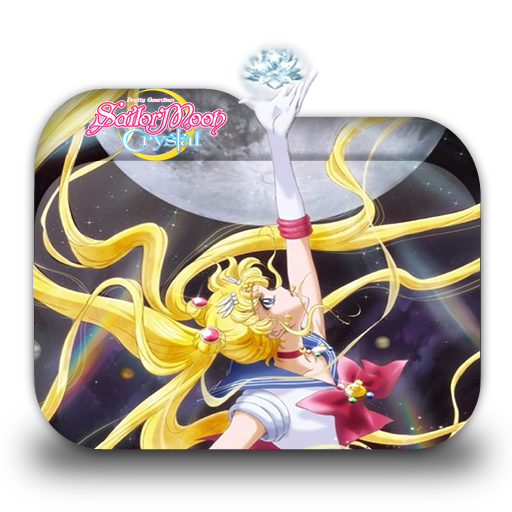 Bishoujo Senshi Sailor Moon Crystal Folder Icon