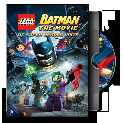 Dvd Folder Icon Lego Batman The Movie