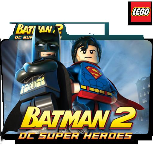 Lego Batman Dc Super Heroes Movie Folder Icon