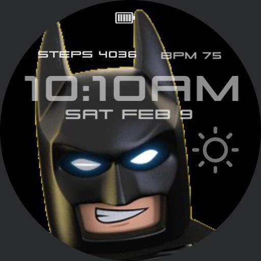 Lego Batman Wink For Watch Urbane