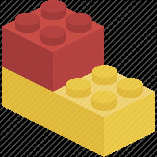 Block, Brick, Lego Icon