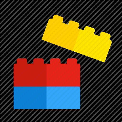 Blocks, Build, Game, Lego, Play, Toys Icon