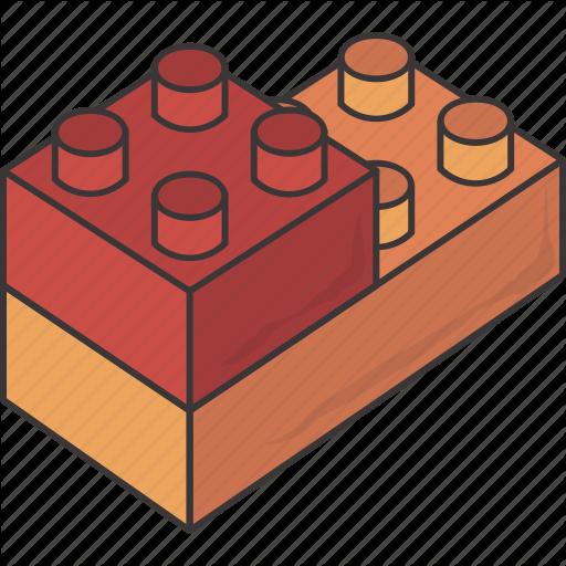 Block, Blocks, Brick, Bricks, Lego, Piece, Pieces Icon