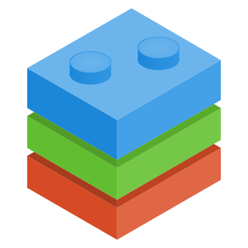 Play, Bricks Icon