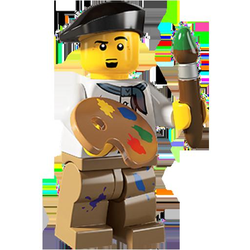 Artist, Lego Icon