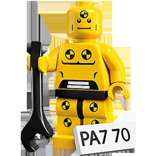 Crash, Dummy, Lego, Test Icon