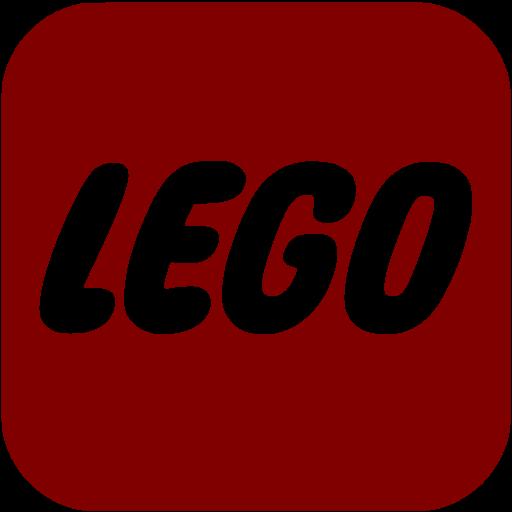 Maroon Lego Icon
