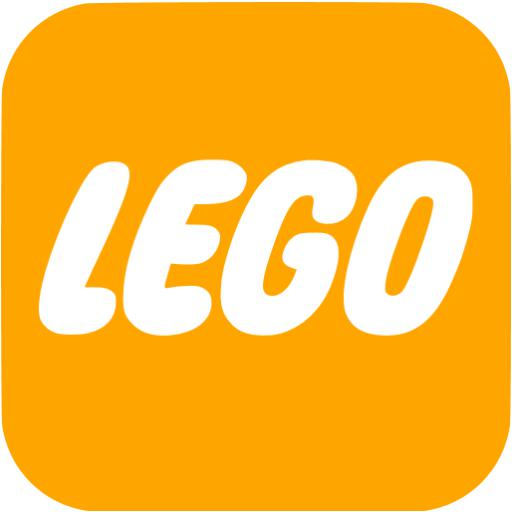 Orange Lego Icon