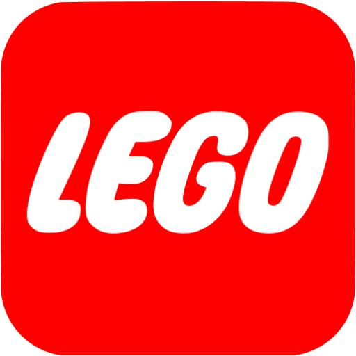 Red Lego Icon