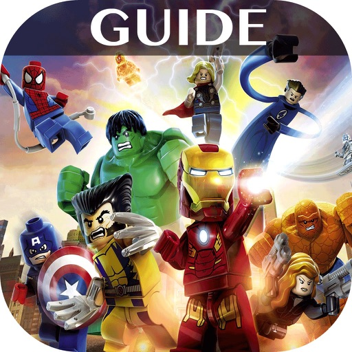 Complete Guide + Cheats Walkthrough For Lego Marvel Super Heroes