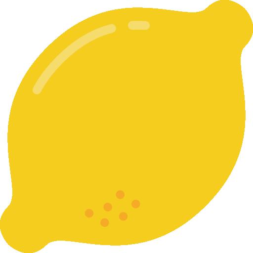 Lemon Icon Gastronomy Smashicons