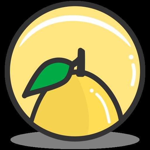 Button Lemon Icon Splash Of Fruit Iconset Alex T