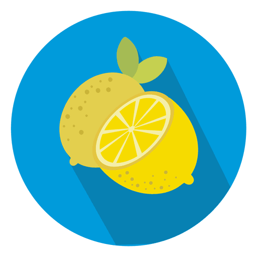 Lemon Circle Icon