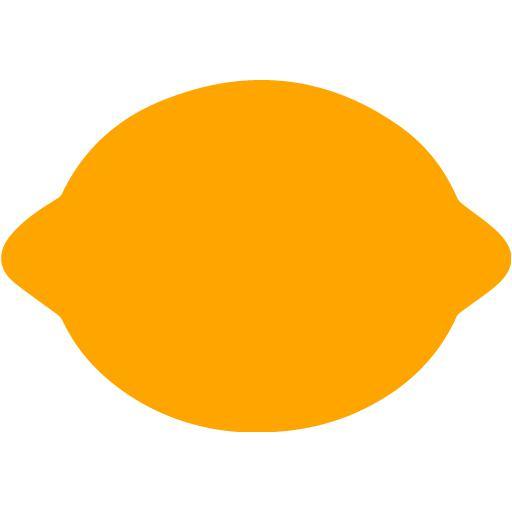 Orange Lemon Icon