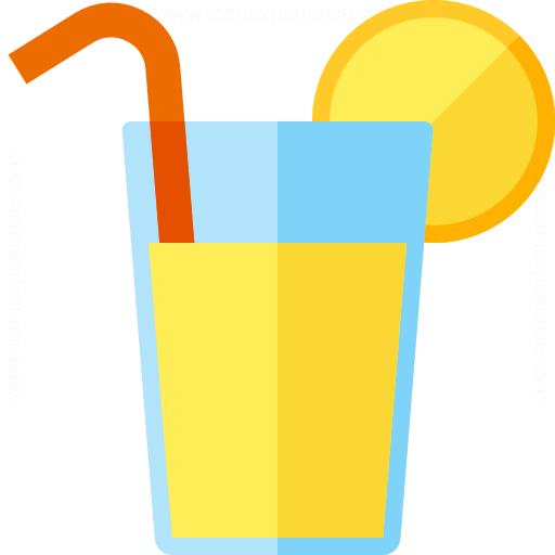 Iconexperience G Collection Lemonade Glass Icon