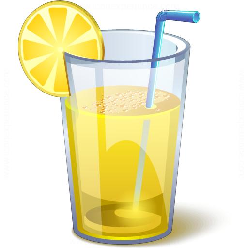 Iconexperience V Collection Lemonade Glass Icon