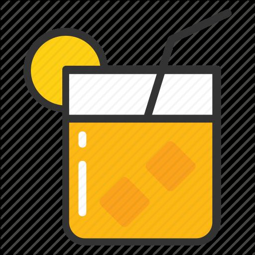 Juice, Lemonade, Orange Juice, Refreshing Juice, Summer Drink Icon