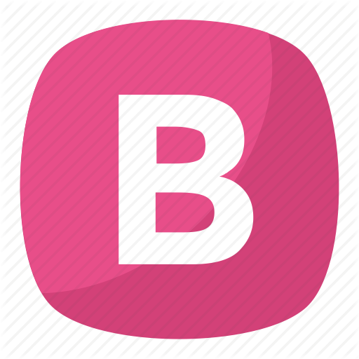 Alphabet Letter B, B, Capital B, Capital Letter B, English Letter Icon