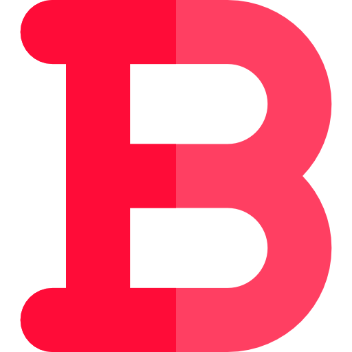Letter B, Text Formatting, Format, Multimedia Option, Signs, Bold Icon