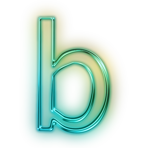 Letter B Save Icon Format