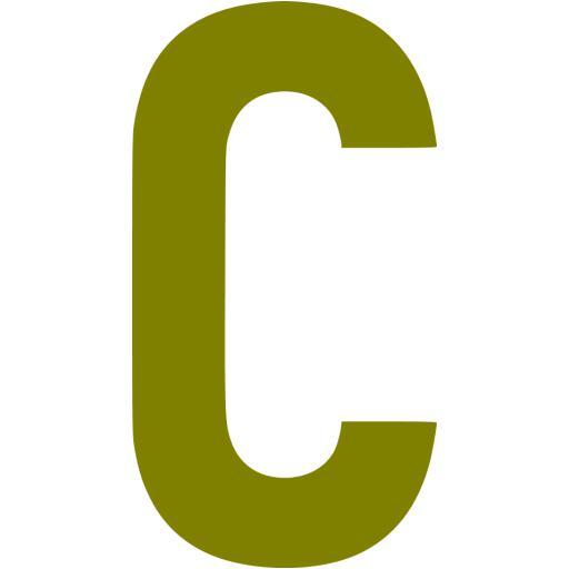 Olive Letter C Icon