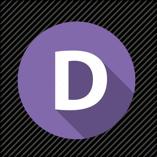 Abc, Alphabet, D, Font, Graphic, Letter, Text Icon