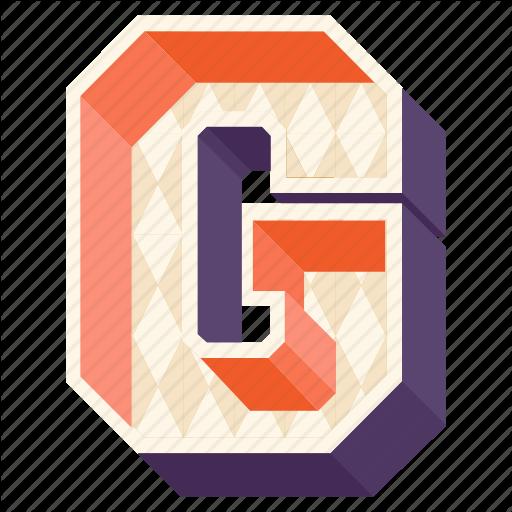 Alphabet, Letter, Alphabet Letter G, Capital Letter G, G Icon