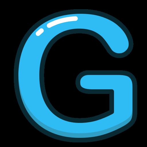 Alphabet, Blue, G, Letter, Letters Icon