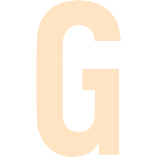 Bisque Letter G Icon