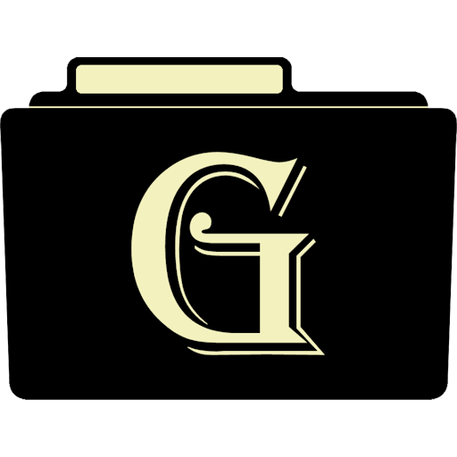 G Icon Alphabet Folder Iconset Aaron Sinuhe