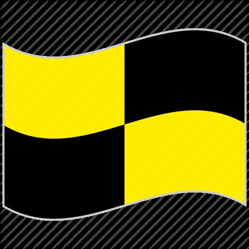 Alphabet, International, Letter L, Lima, Maritime, Nautical Flag