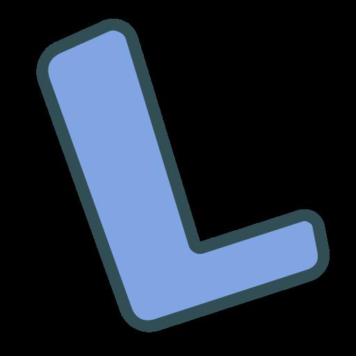 L, Brand, Single, Letter Icon
