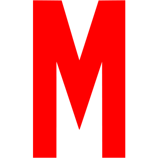 Red Letter M Icon