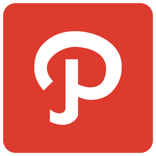 P, Letter, Path, Sign, Alphabet Icon
