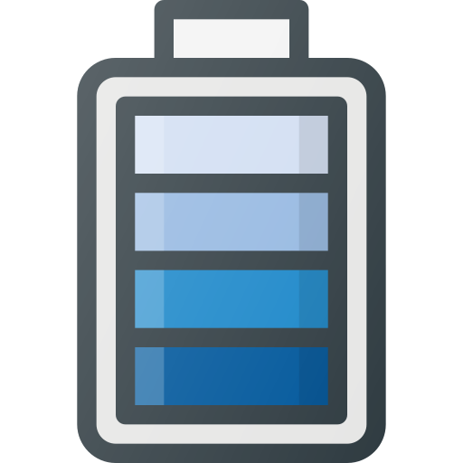 Battery, Level, Charge, Cell Icon Free Of Free Set Color Outline
