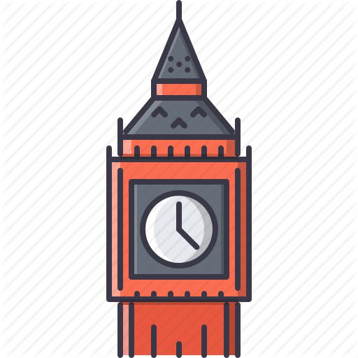 Bell, Ben, Big, Clock, London, Sight, Tower Icon