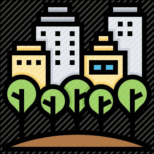 Central, Garden, Municipal, Park, Public Icon