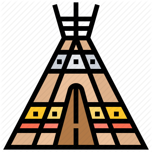 Indian, Shelter, Teepee, Tent, Tipi Icon