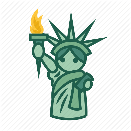 Famous Architecture, Iconic Landmark, Statue Of Liberty, Symbolic