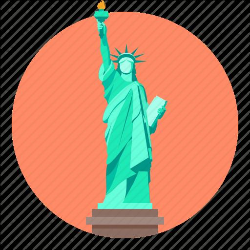 Liberty, Monument, Statue, Statue Of Liberty Icon