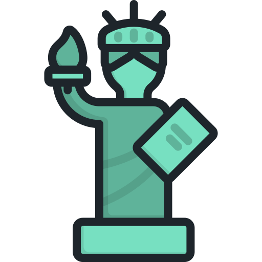 Statue Of Liberty America Png Icon
