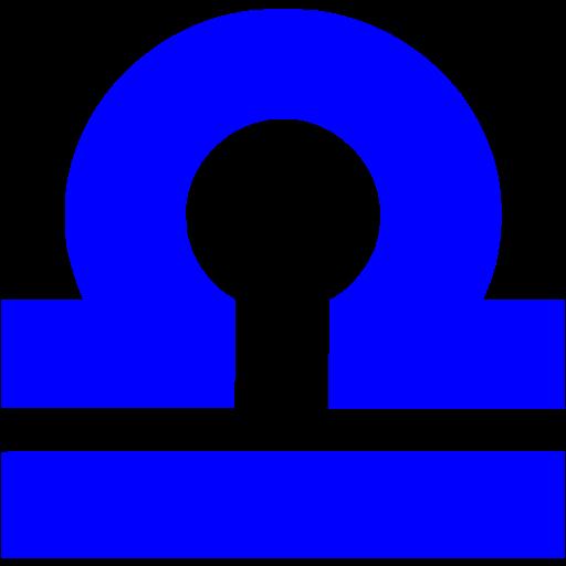 Blue Libra Icon