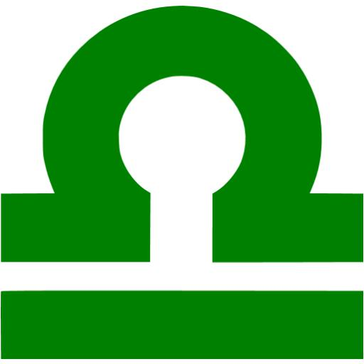 Green Libra Icon