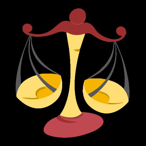 Sign, Zodiac, Libra Icon