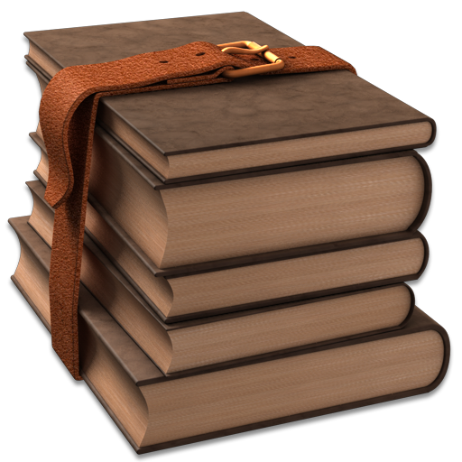 Library Brown Icon