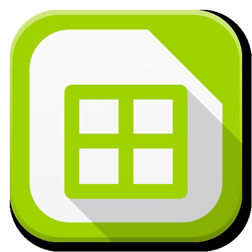 Apps Libreoffice Calc Icon Flatwoken Iconset Alecive